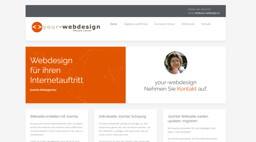 your-webdesign. Pascale Locher